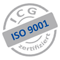 ICG ISO 9001 certificated